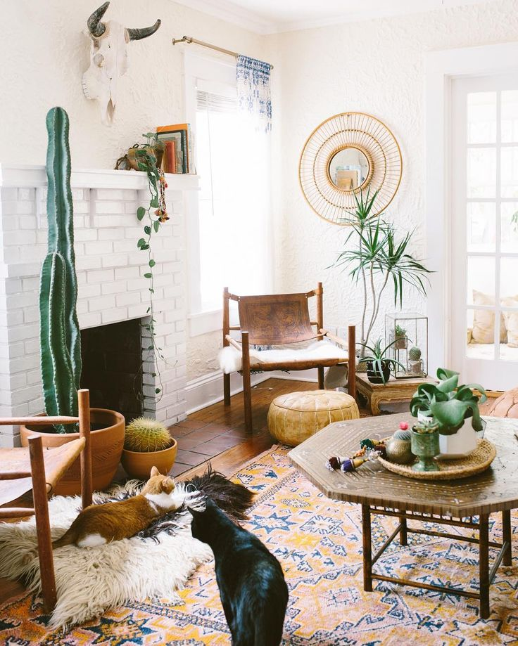 DIY Bohemian Living Room