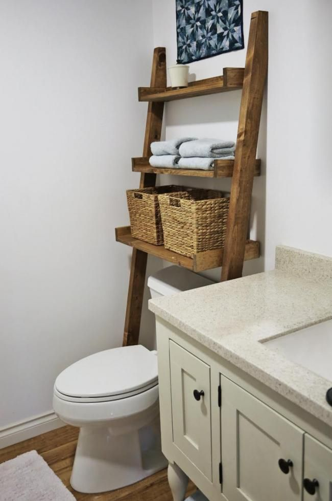 DIY Small Bathroom Furniture