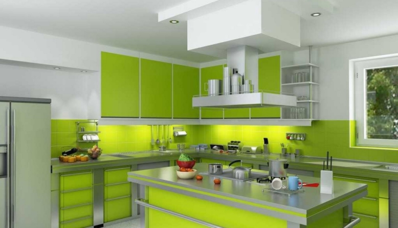 Refresh Your Mind With Beautiful Green Kitchen Ideas Diy Home Art