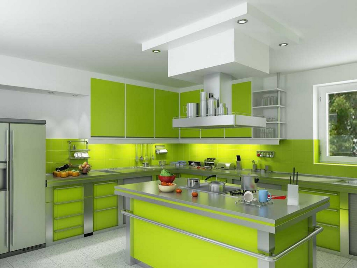 Refresh Your Mind With Beautiful Green Kitchen Ideas Diy