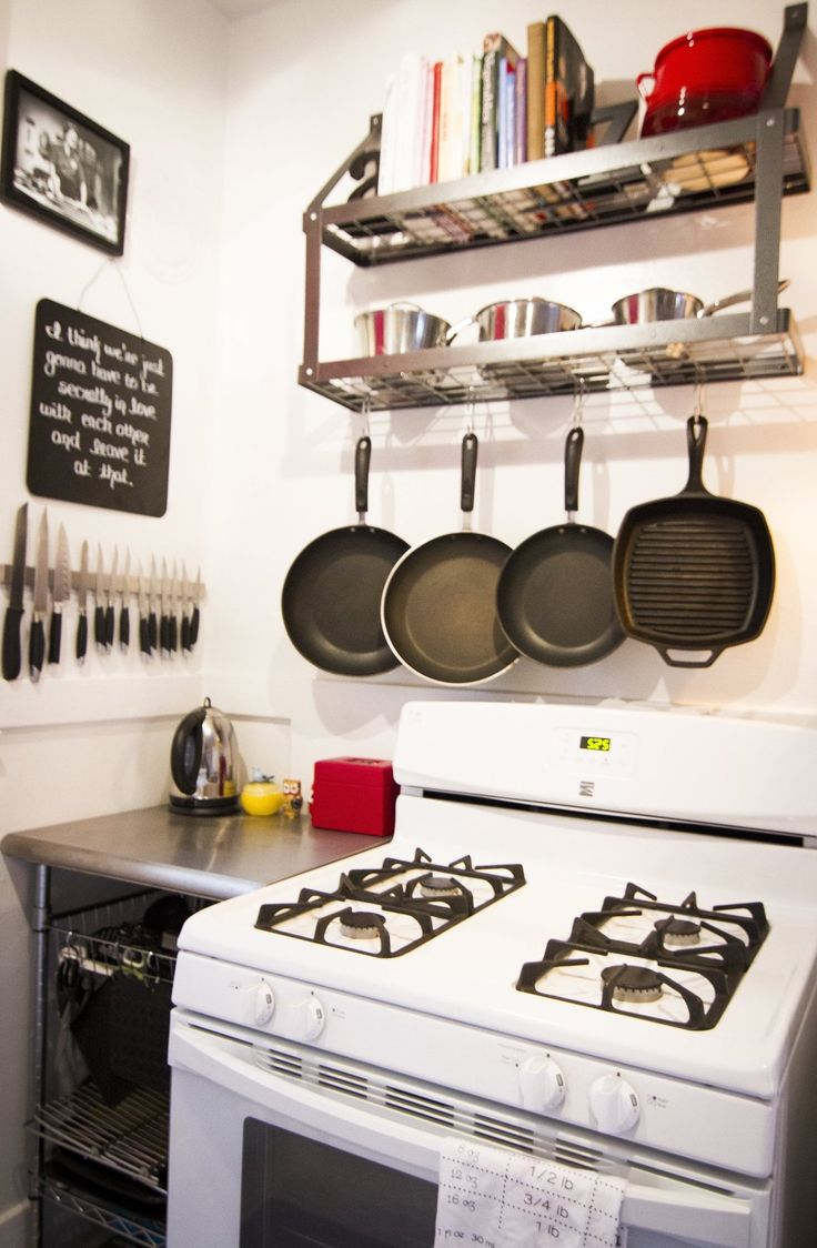 Kitchen for Small Spaces Organizing