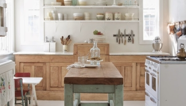 Modern Shabby Chic Kitchen