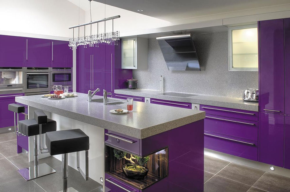 Purple Kitchen Ideas For Unique And Modern Look Diy Home Art