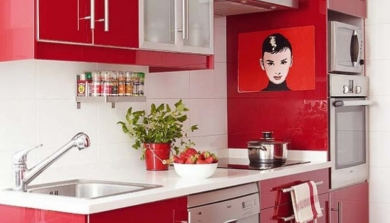 Feeling Low? Feast Your Senses on Red Kitchen Décor - DIY ...