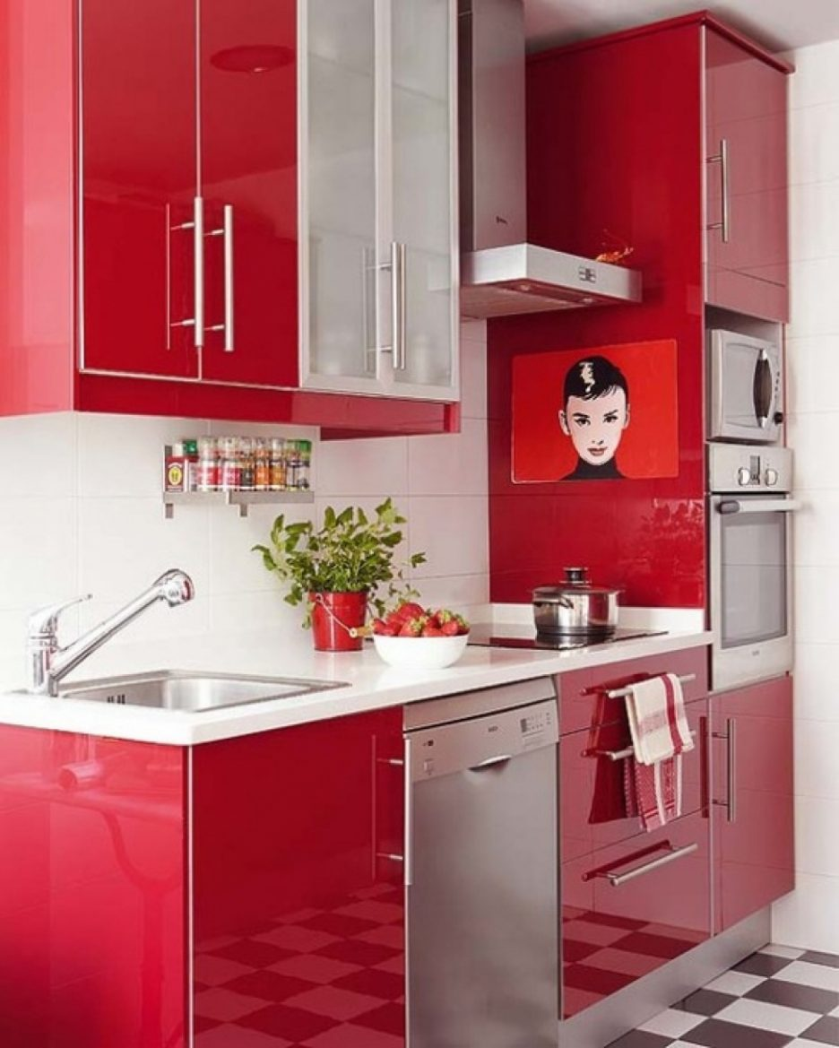 Feeling Low? Feast Your Senses On Red Kitchen Décor