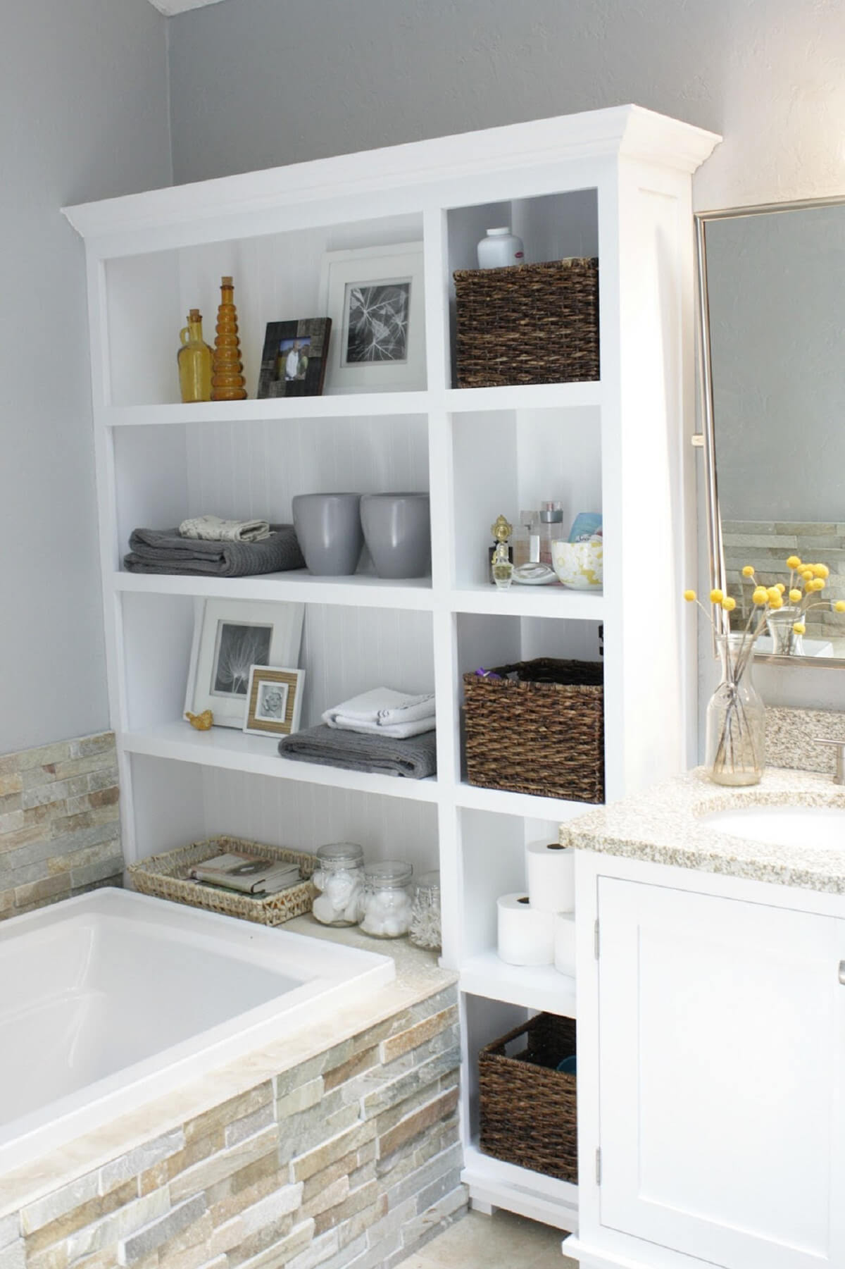 Small Bathroom Furniture Storage