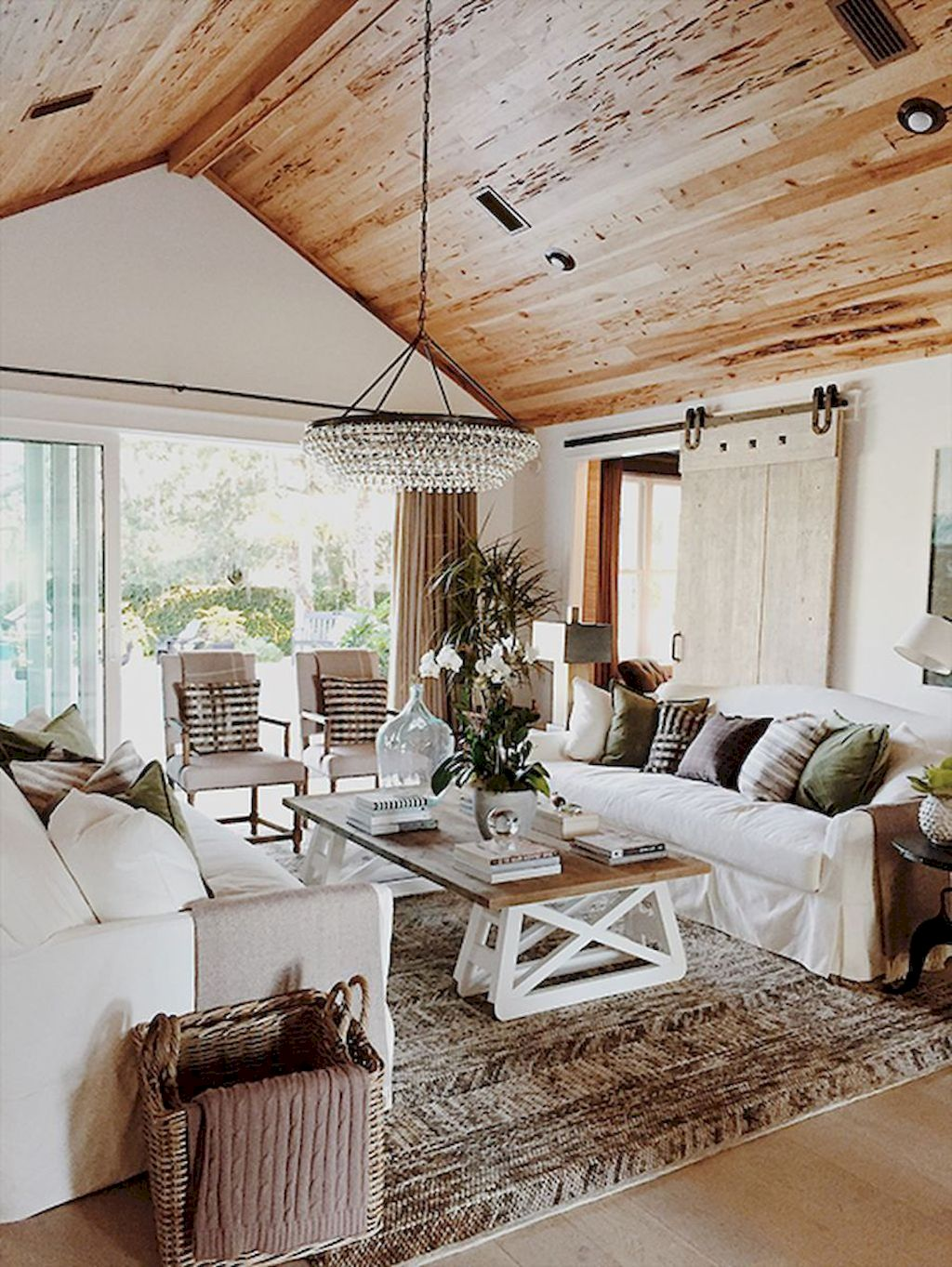 30 Elegant Farmhouse Living Room Ideas You Should Try