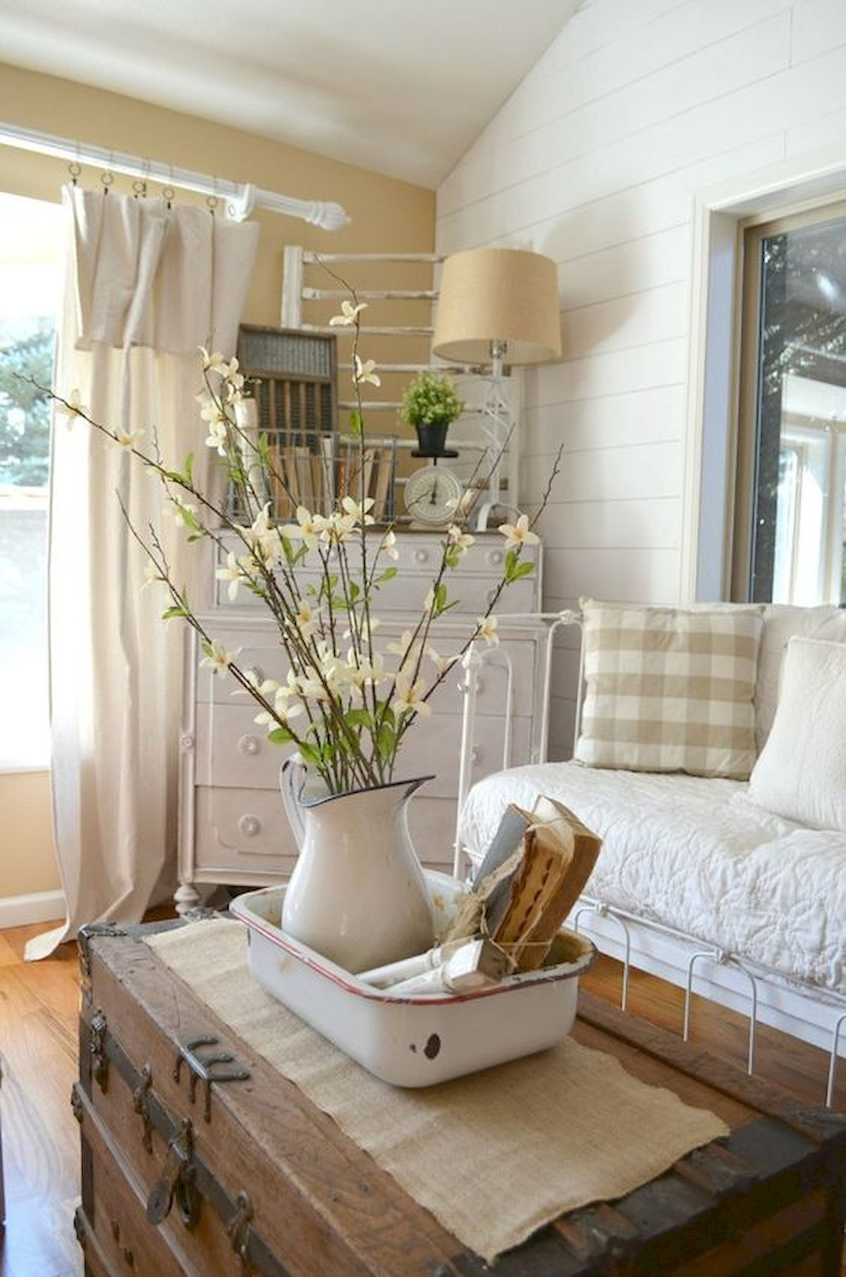 Old Tea Pot as Flower Vase