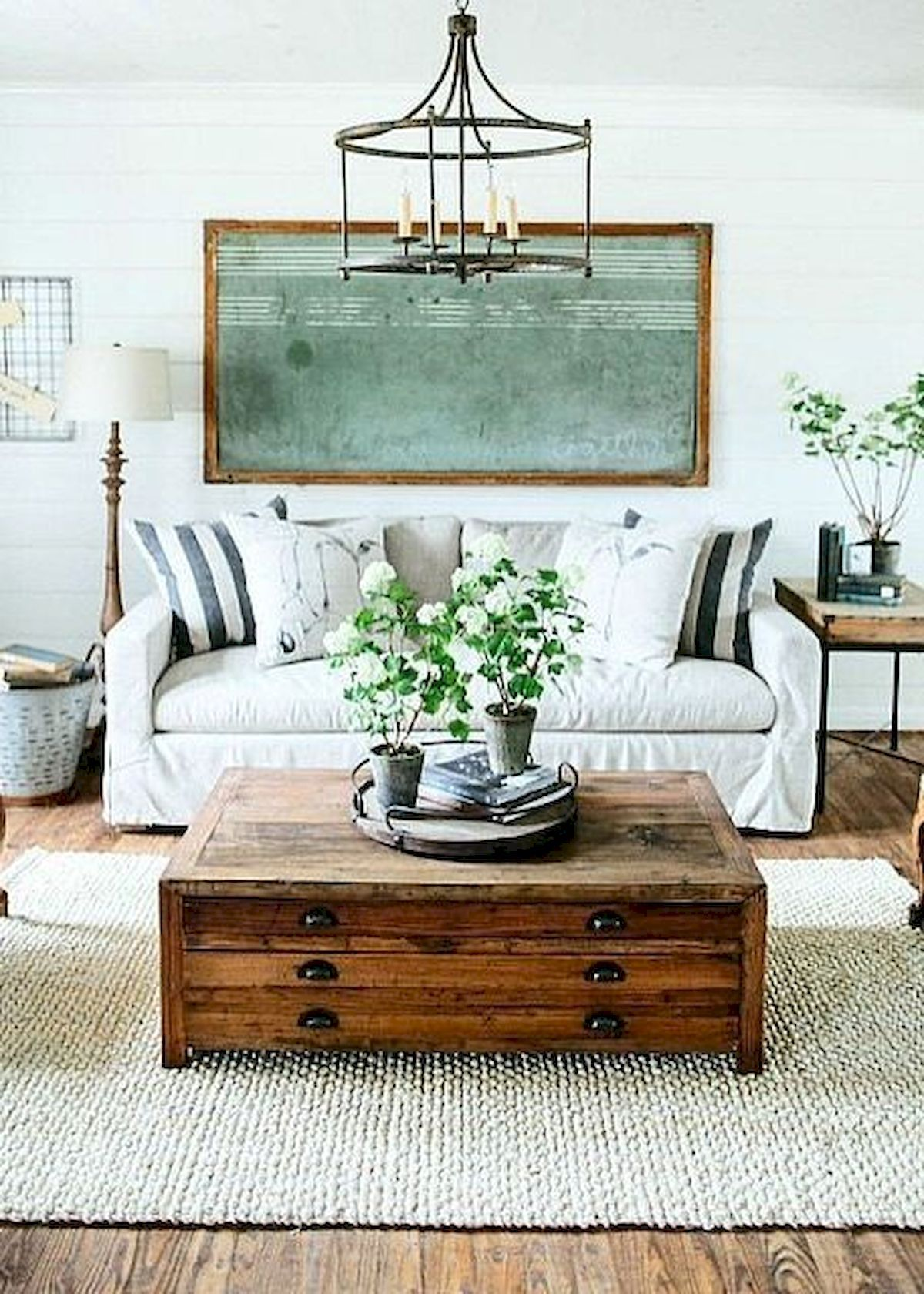 Old Coffin as the Table