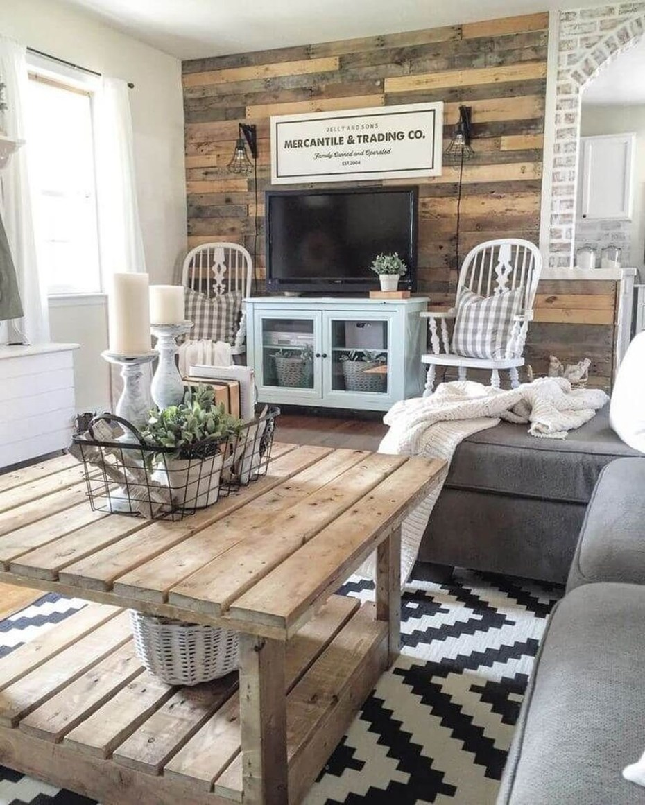 farmhouse room decor 27 rustic farmhouse living room decor ideas for your home homelovr Rustic Farmhouse Living Room