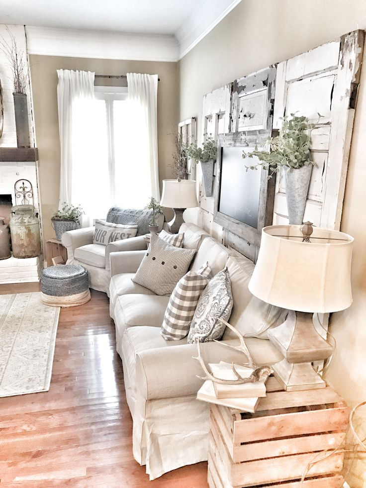 rustic but elegant how to create the ultimate farmhouse living room