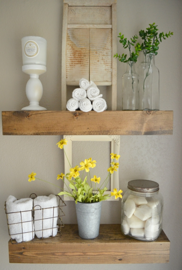 Ideas for vintage and modern farmhouse bathroom decor - Contemporary modern bathroom accessories ...