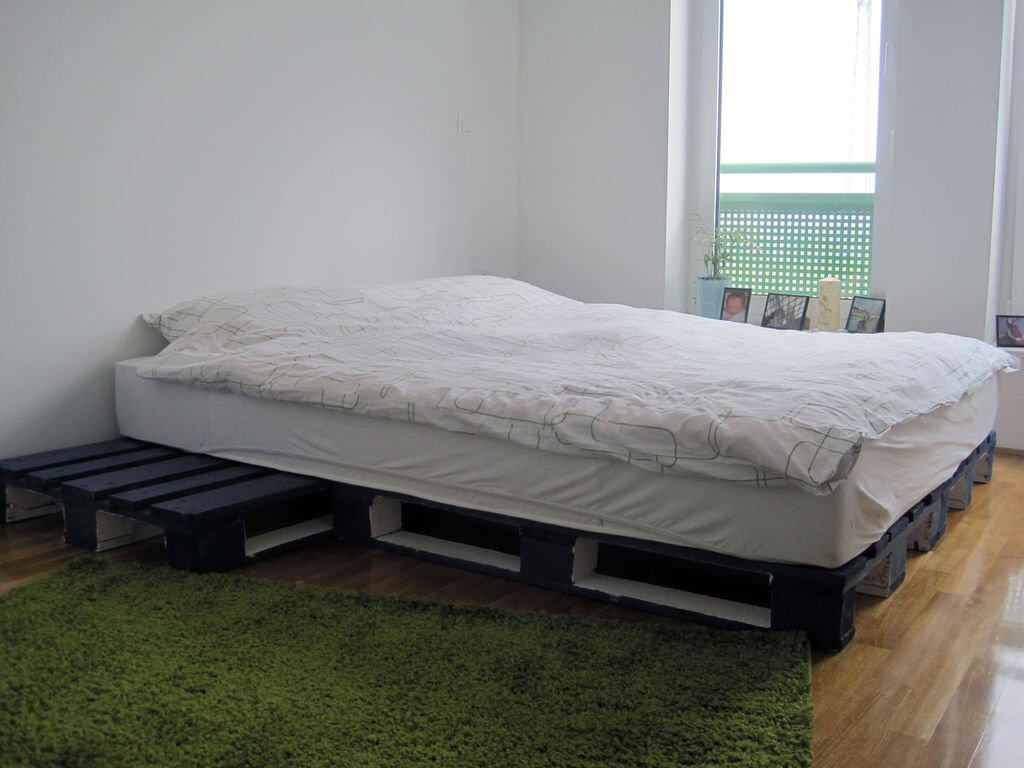 Classy Pallet Bed Frame