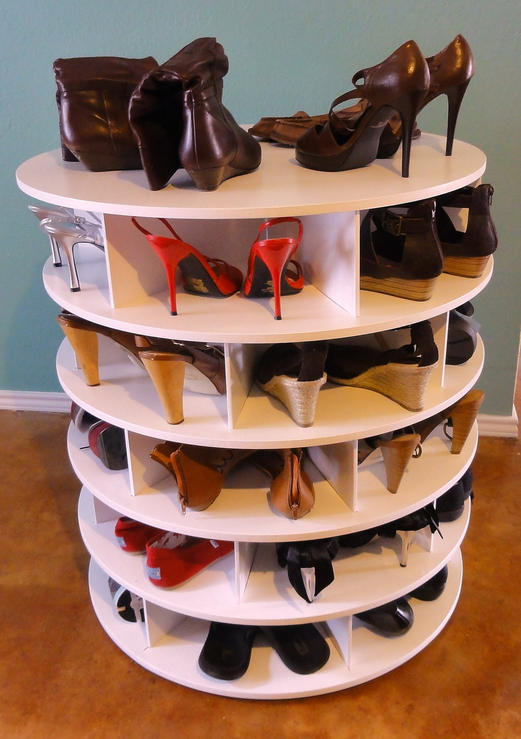 Cool Shoe Display