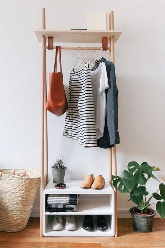 Simple Shoe Storage for Simple Personality