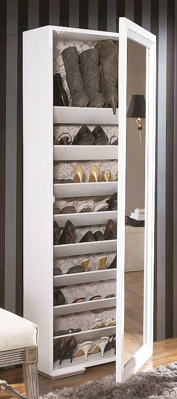 Luxurious Cupboard Shoe Storage