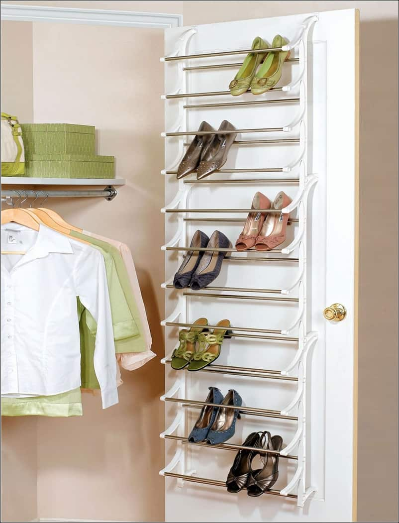 Shoe Storage behind the Door
