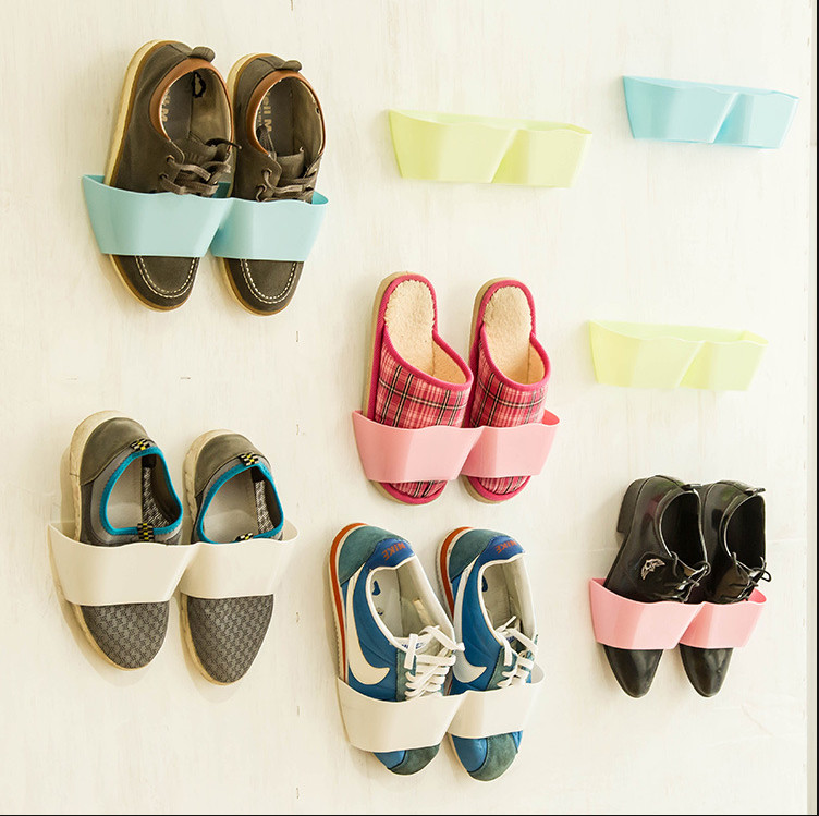 Creative Wall Shoe Storage
