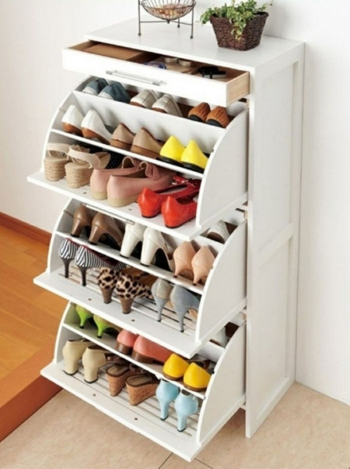 Space Saving Shoe Dresser