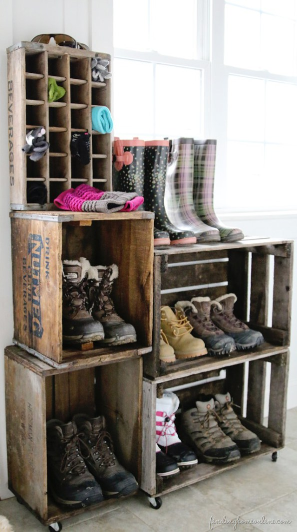Shoe and Sock Storage