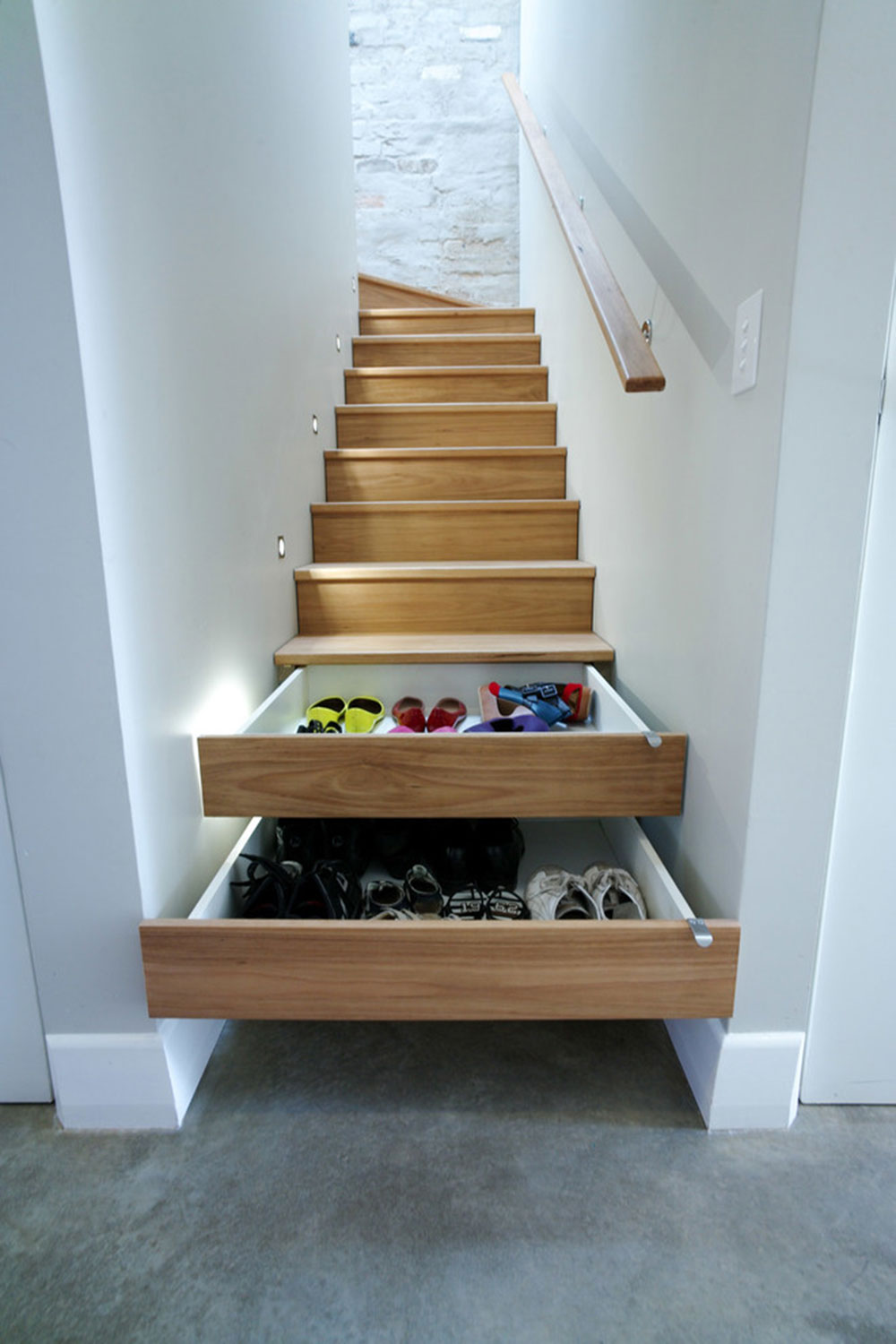 Store Them in the Stairs