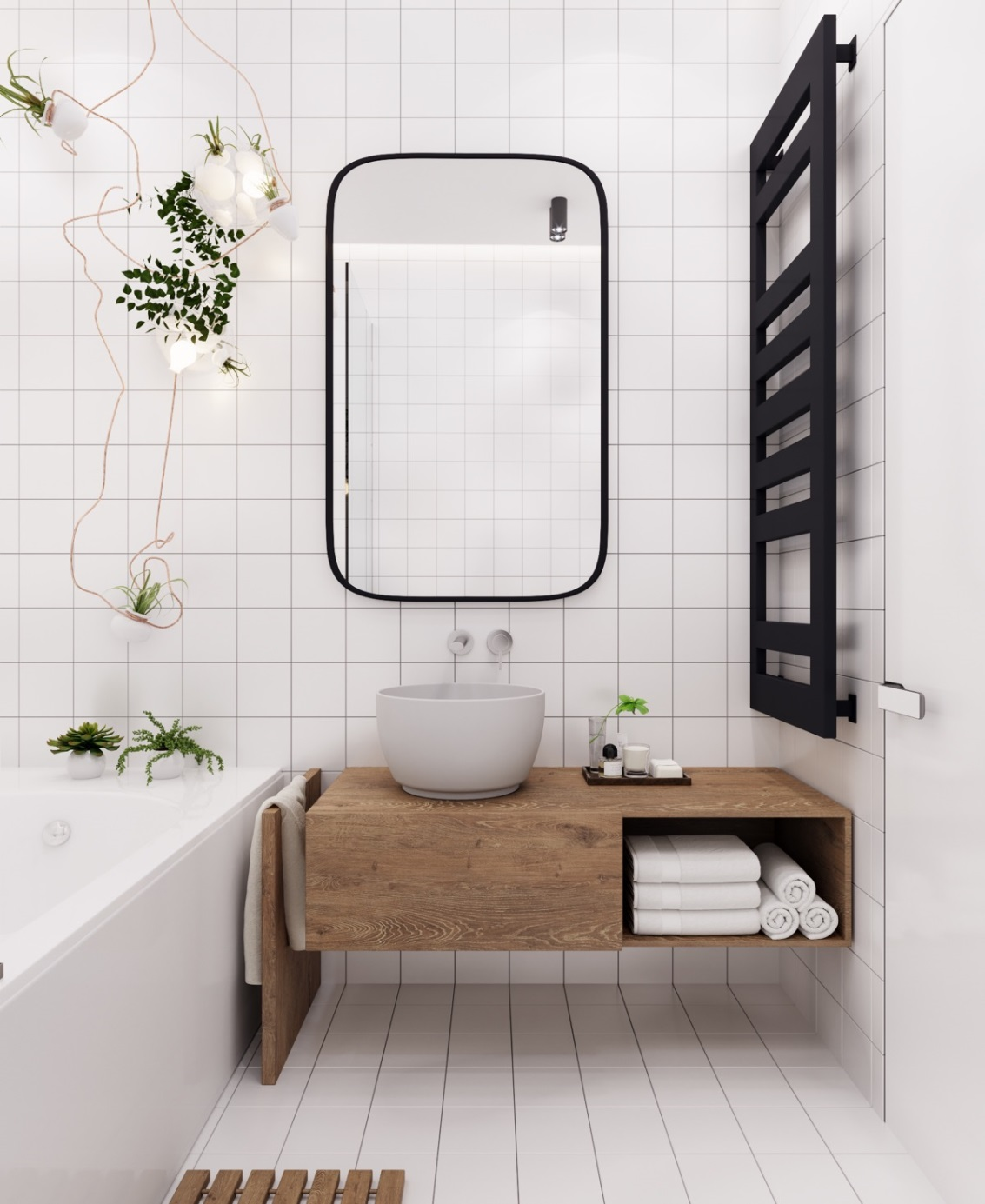 Give Your Bathroom A Fresh Look