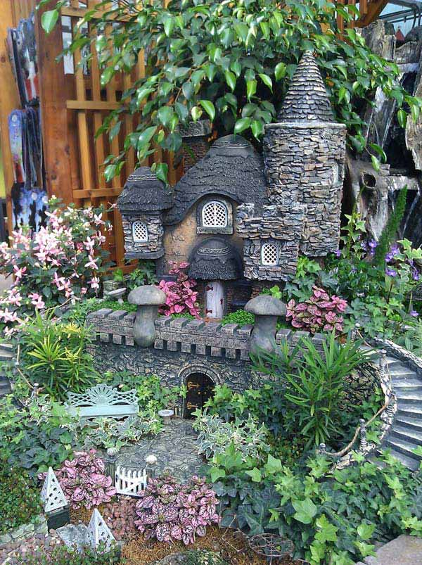The Mysterious Castle in the Garden