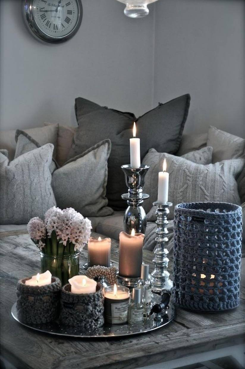 Perfect Table for Perfect Gray Room