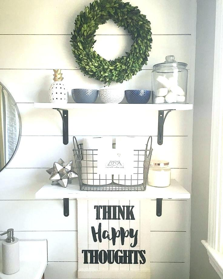 Floating Rack for Farmhouse Style