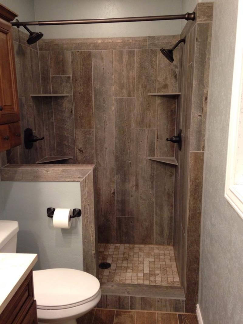 Tile Idea for Rustic Shower Room