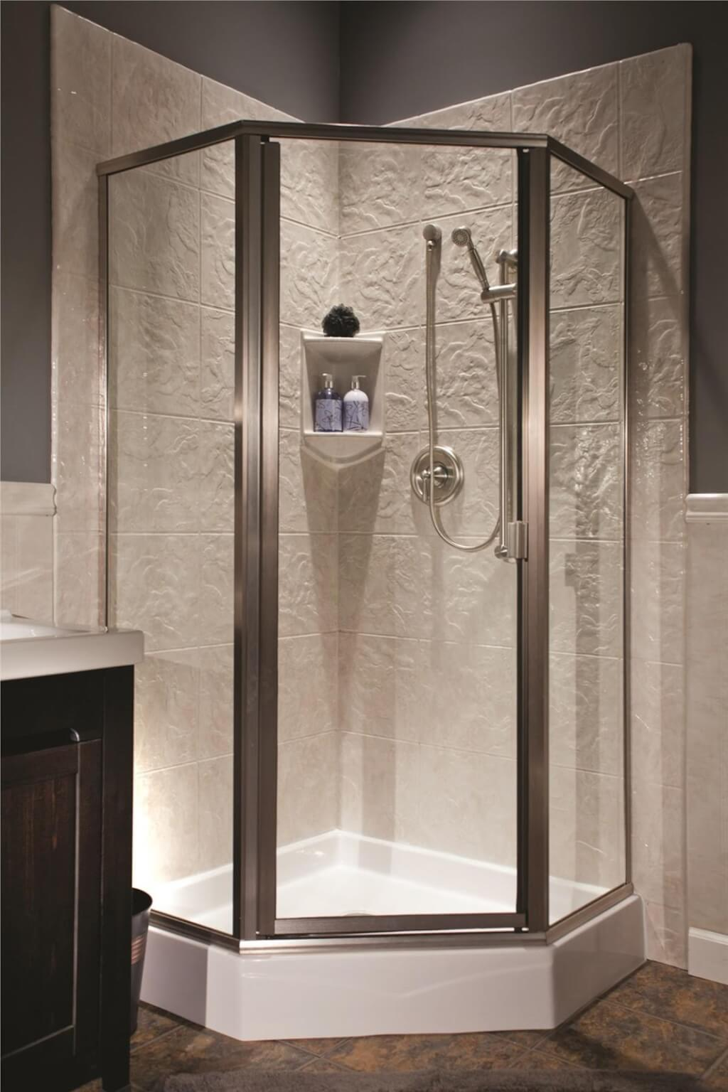 Romantic Shower Tile