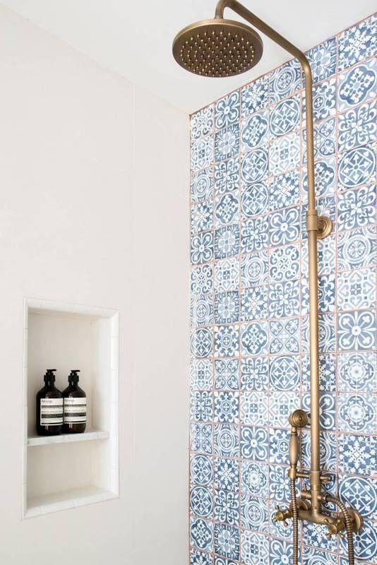 Morrocan Tile Shower