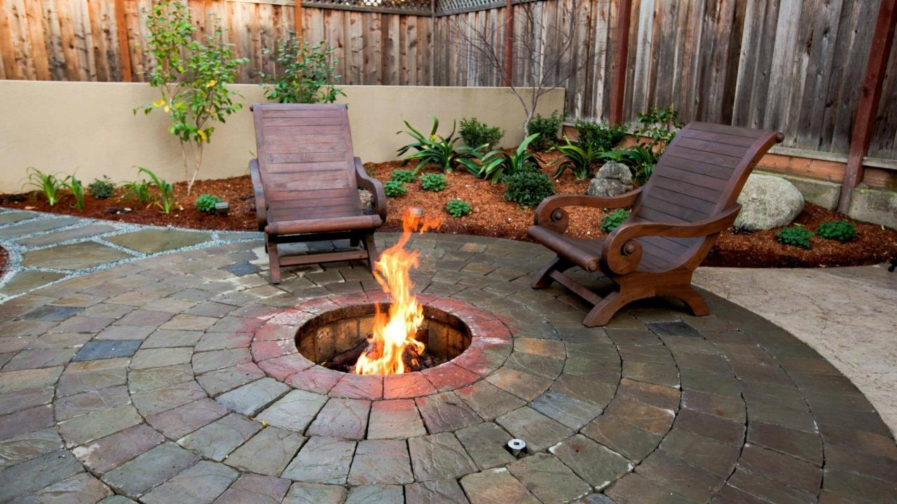 Small In Ground Fire Pit