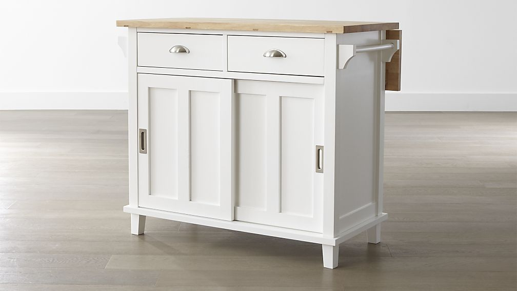 White KItchen Island for Traditional Kitchen
