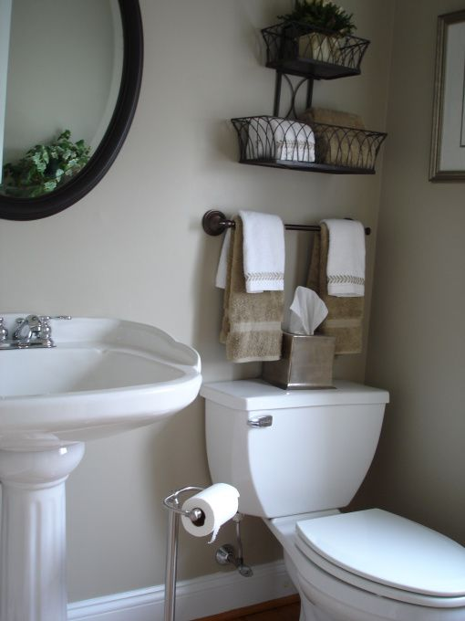 Curtain Rod and Baskets